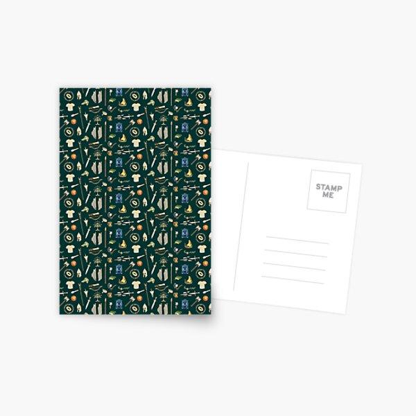 Fantasy Pattern Carte postale