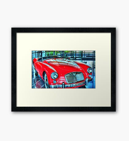 Famous Red Framed Print