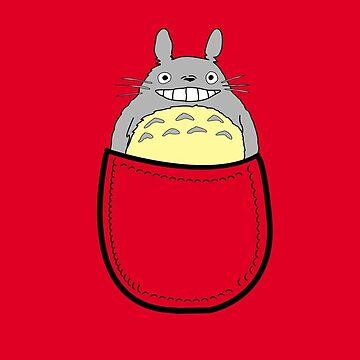 Pocket totoro. Anime by Faramiro