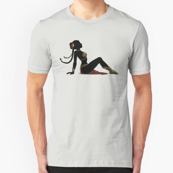Slave Girl Mudflap Slim Fit T-Shirt