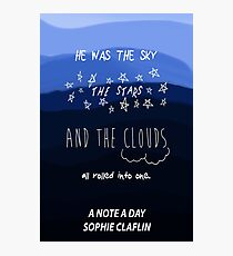 The Sky, the Stars, and the Clouds Photographic Print