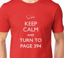 Keep Calm Page 394 Unisex T-Shirt