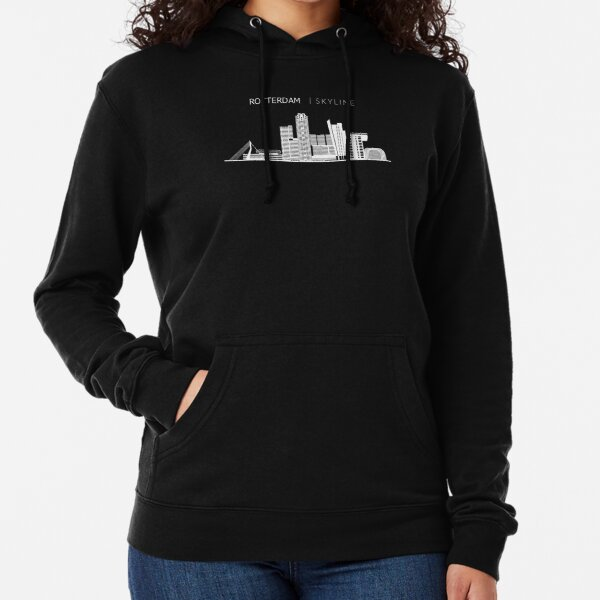 Rotterdam Skyline Cityscape Travel Lightweight Hoodie