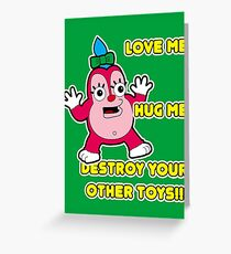 Funzo. Simpsons TV serie.  Greeting Card