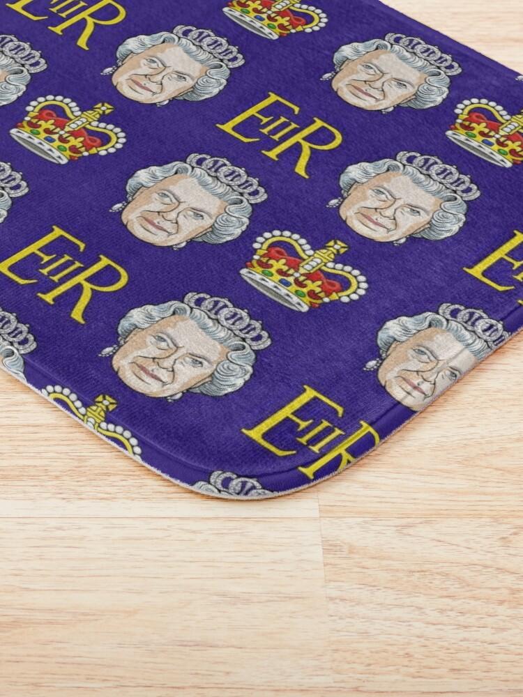Alternate view of Queen Elizabeth II Bath Mat