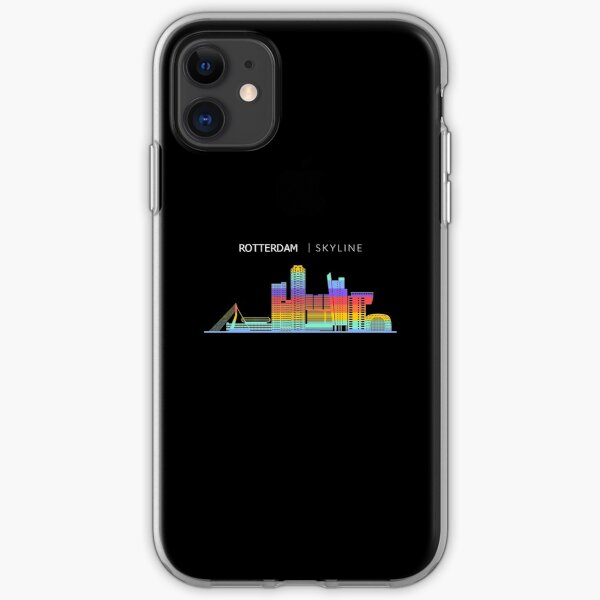 Rotterdam Skyline Cityscape Travel iPhone Soft Case