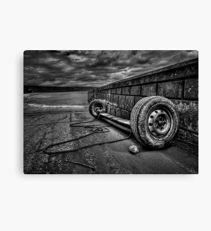 Where The Roads End... Canvas Print