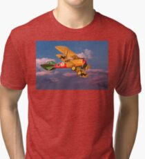 Time to fly home Tri-blend T-Shirt