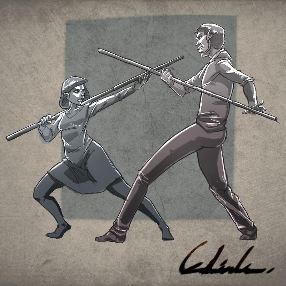 Fighting Love by Edwin Lara Ramirez