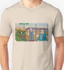 Trump Pepe - SJW Border Unisex T-Shirt