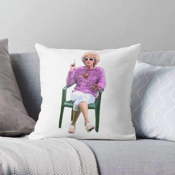 Kath and Kim Throw Pillow