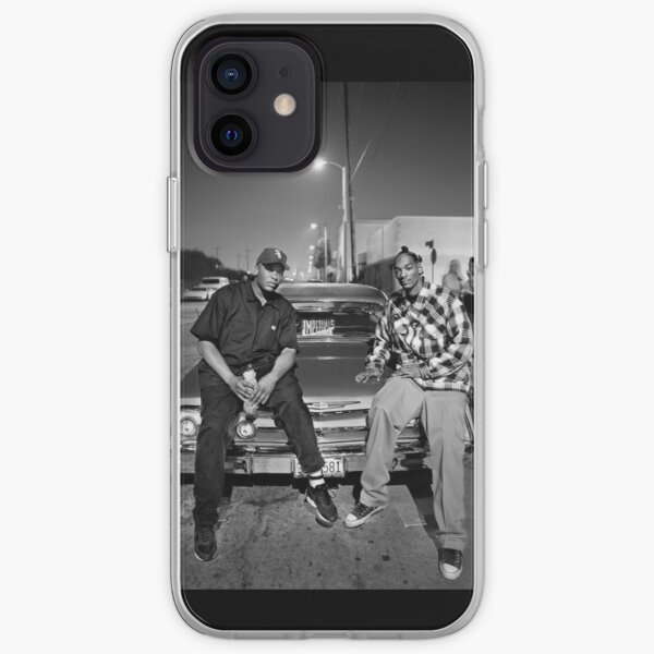 Vintage Snoop Doggy Dogg and Dr. Dre iPhone Soft Case