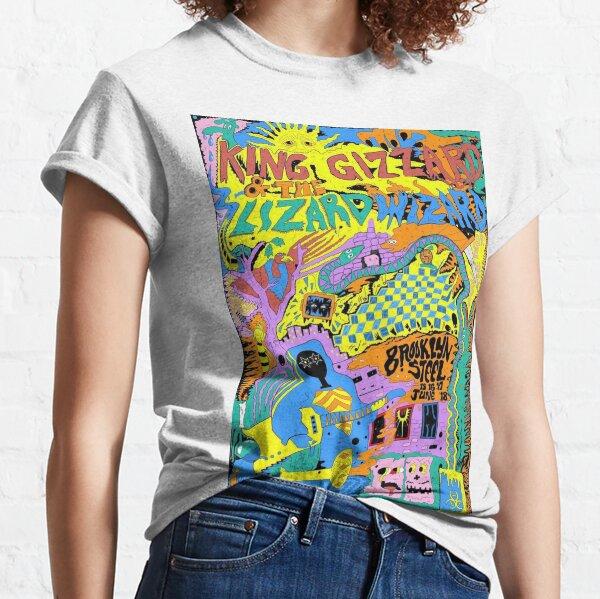 King Gizzard and the Lizard Wizard Brooklyn Steel Art Classic T-Shirt