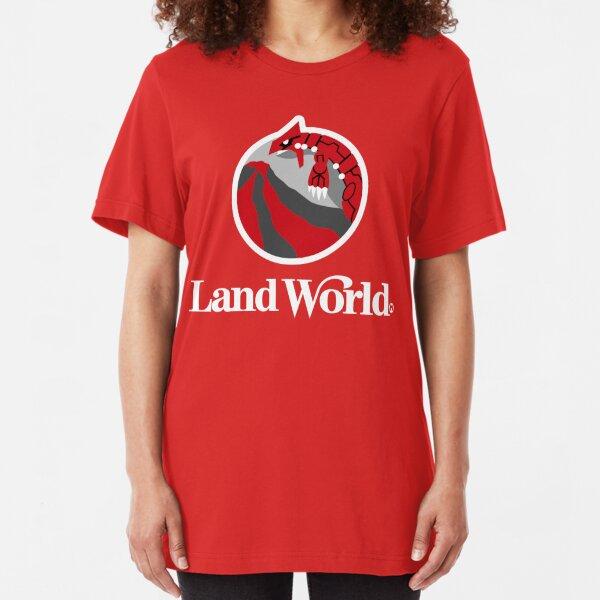 Land World Slim Fit T-Shirt