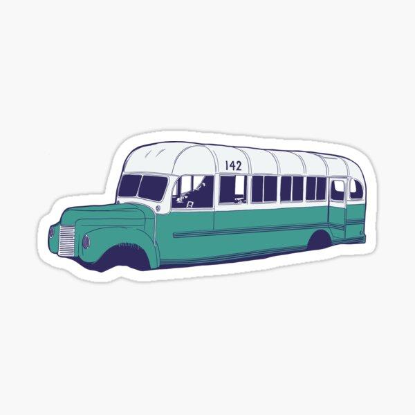 Bus 142 Sticker Sticker