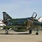 The F-4 Phantom taxiing at Nellis AFB by Henry Plumley