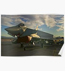 Front Shot of a British Typhoon Poster