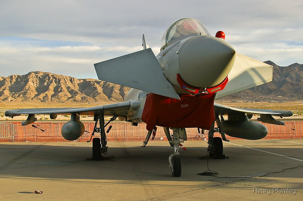 Nose Shot of a British Typhoon by Henry Plumley