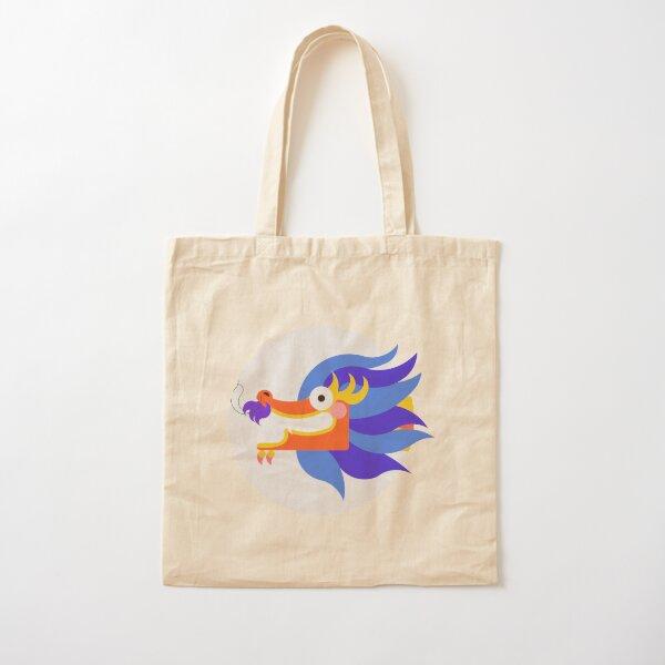Dragon Cotton Tote Bag