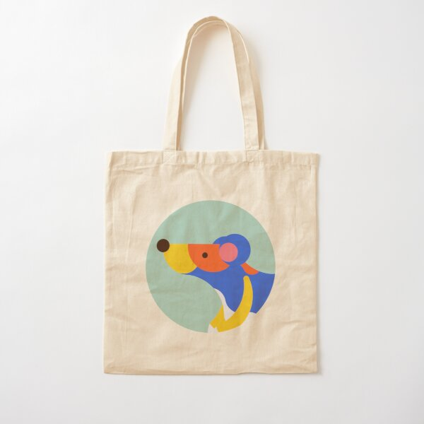 Rat Cotton Tote Bag