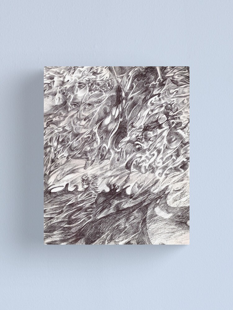Alternate view of Wonderlust Canvas Print