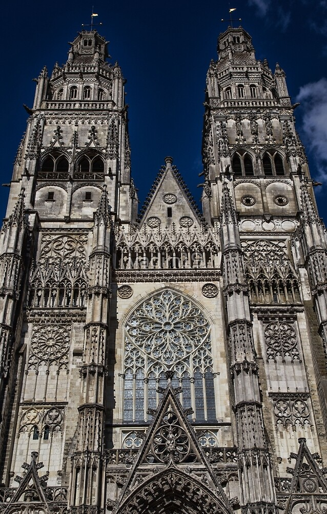 France. Tours. Tours Cathedral. by vadim19