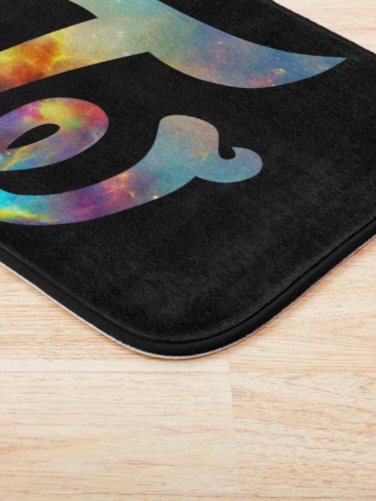 Alternate view of Twice Nebula Bath Mat