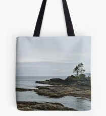 Just another Beautiful Grey day at Botanical Beach Tote Bag