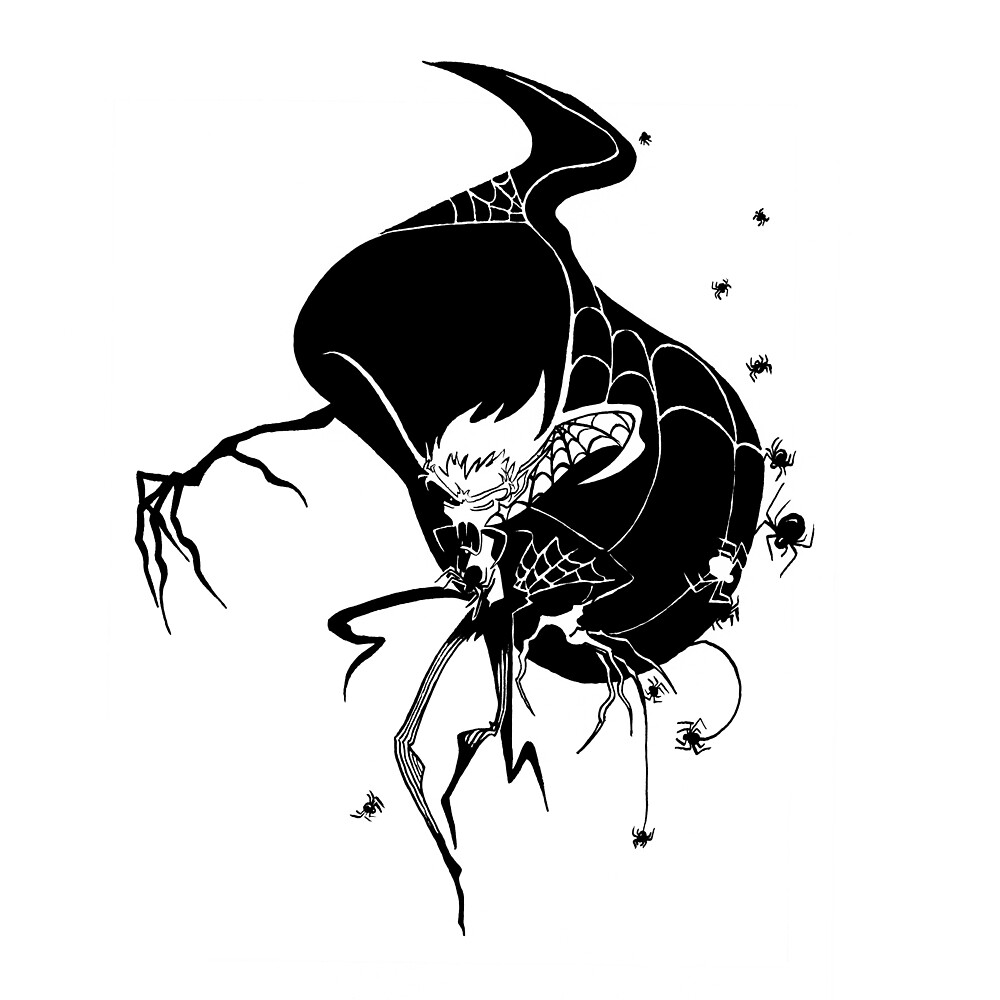Dracula Spider Lullaby by JoJo Seames