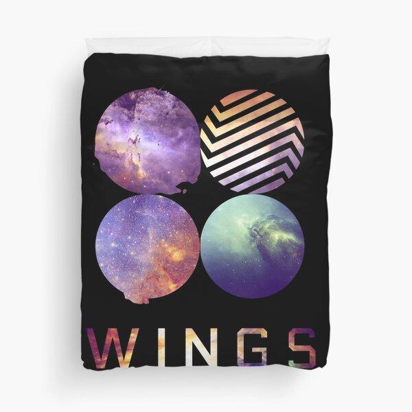 BTS nebula Duvet Cover