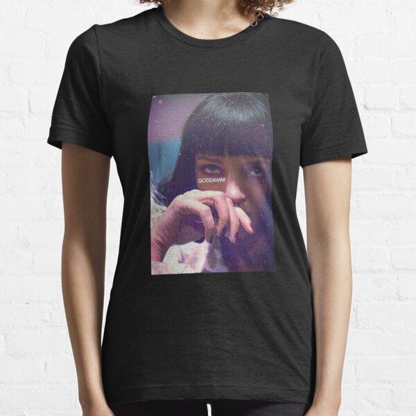 Mia Wallace God Damn! Essential T-Shirt