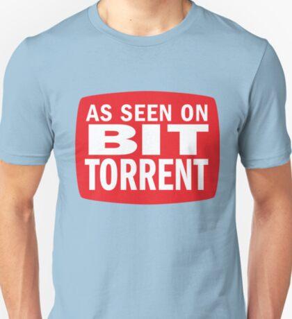 As seen on BitTorrent T-Shirt