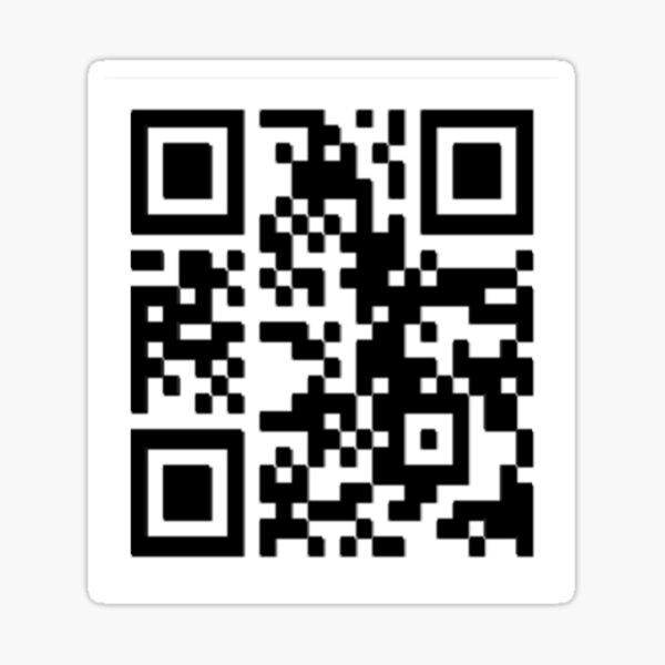 Danny devito picture qr code scan Sticker