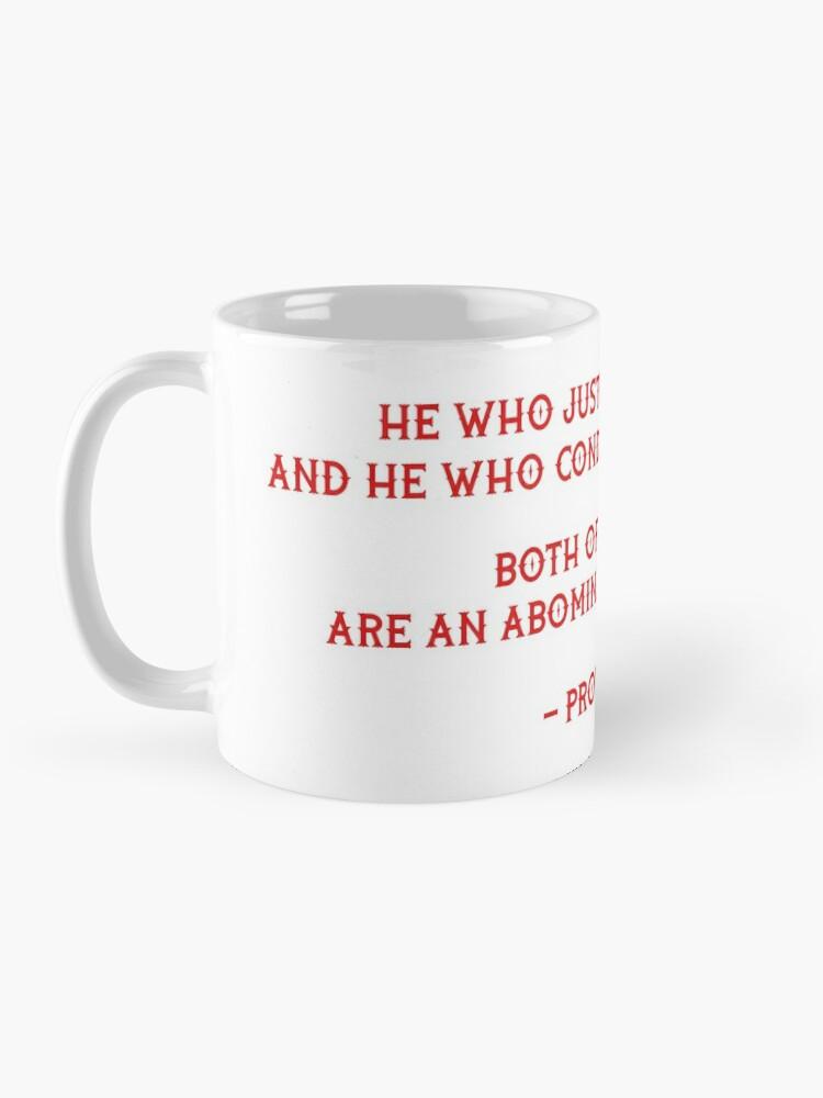 Alternate view of Righteous  Mug