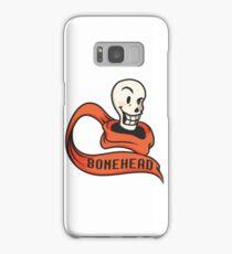 Bonehead - 8-Bit PAPYRUS Samsung Galaxy Case/Skin