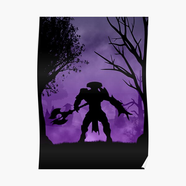 Dota 2 Earthshaker The International Video Game Hero Moba POSTER wall art