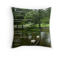 Quench my thirst  Throw Pillow