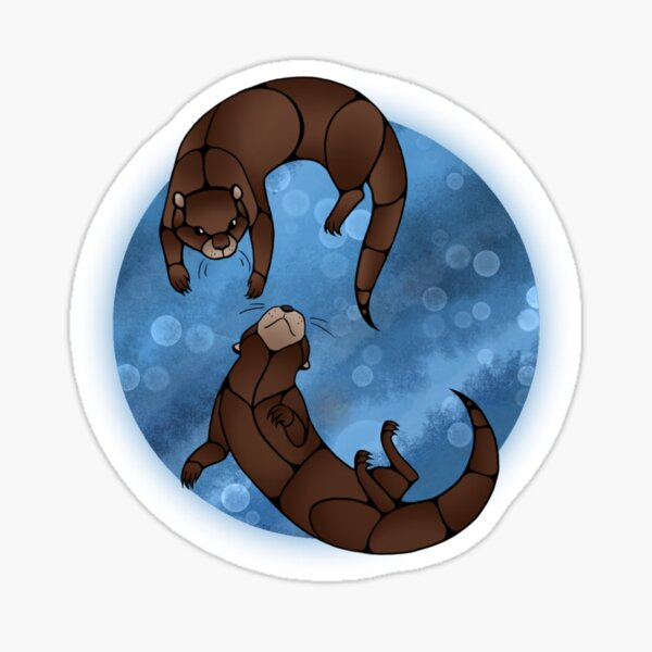 Nigigwag - Otters Sticker