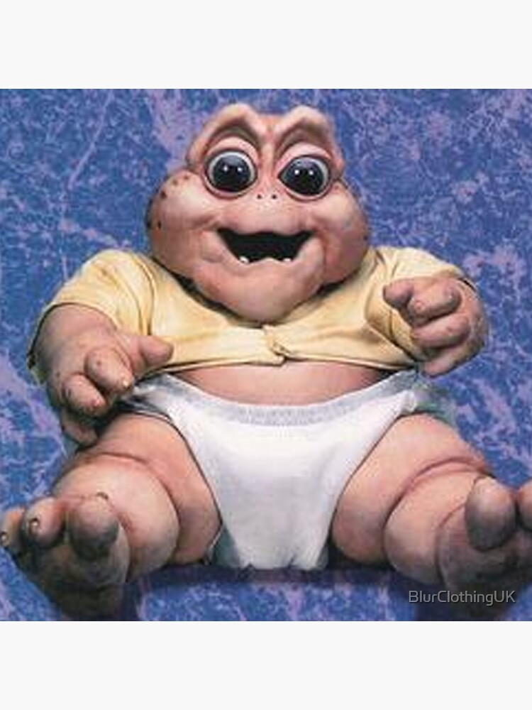 Baby Sinclair The Dinosaurs by BlurClothingUK