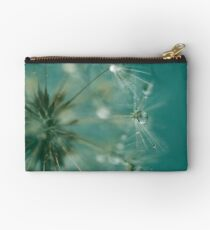 Dewdrops on Dandelion - 7 Studio Pouch