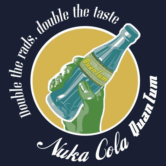 TShirtGifter presents: Nuka-Cola Quantum