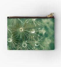 Dewdrops on Dandelion - 9 Studio Pouch
