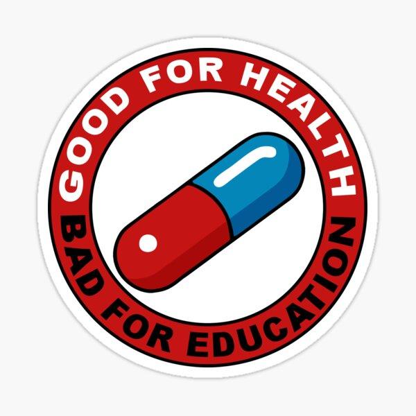 Red and Blue pill - Akira Sticker