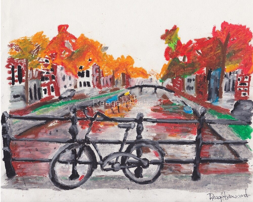 Amsterdam  by Reagan Broussard