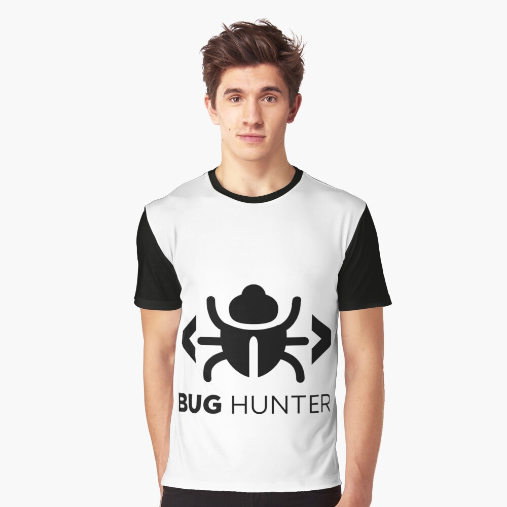 Bug Hunter - Love testing Graphic T-Shirt