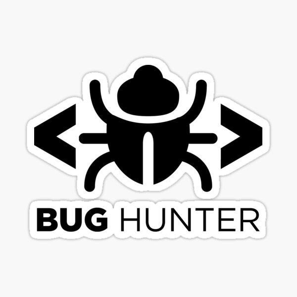 Bug Hunter - Love testing Sticker