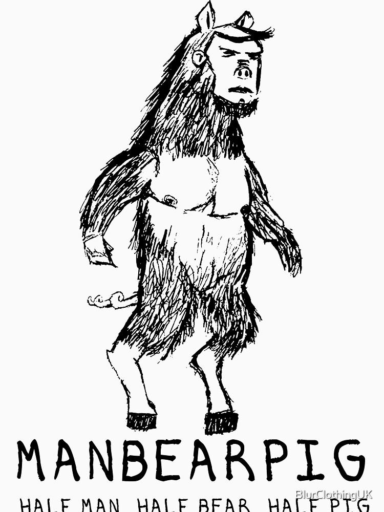 ManBearPig by BlurClothingUK