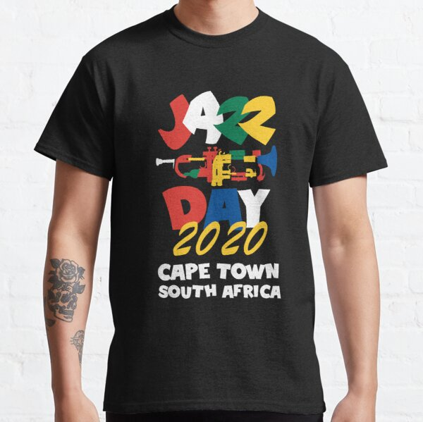 International Jazz Day 2020  Cape Town South Africa Classic T-Shirt