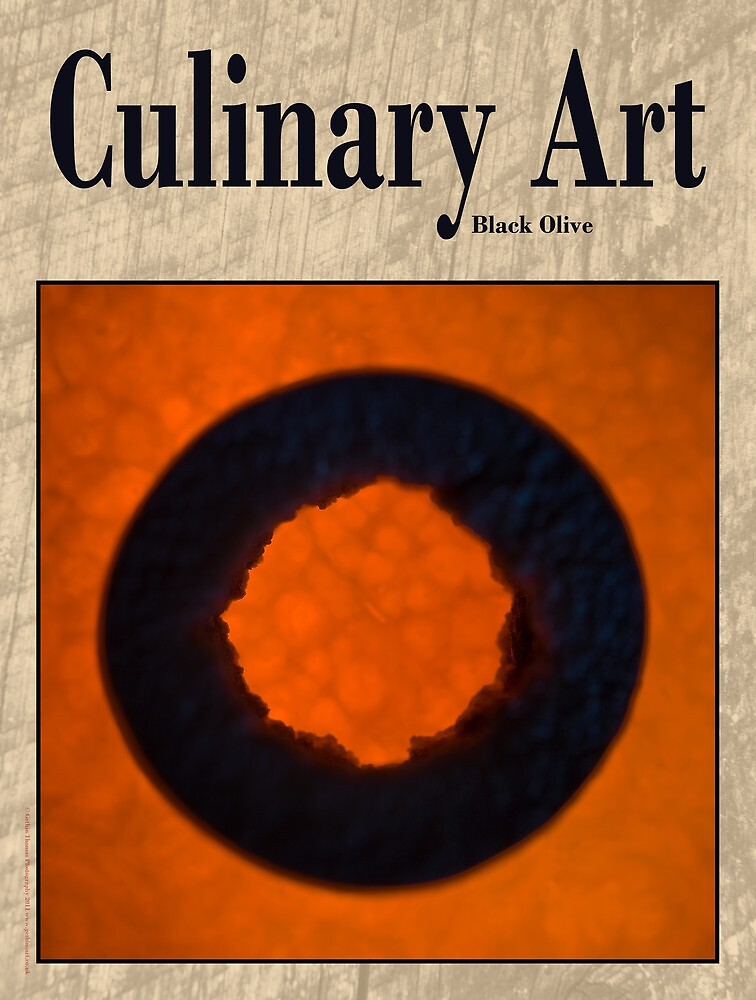 Culinary Art, Black Olive and Butternut Squash by Gethin Thomas