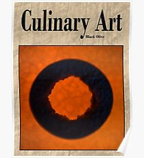 Culinary Art, Black Olive and Butternut Squash Poster